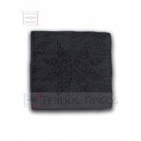 Cotton Star Cushion Dark Gray Color