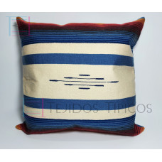 Fine Cotton Cushion Bone and Steel Background
