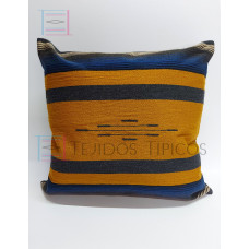 Fine Cotton Cushion Gold and Gray Background