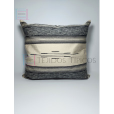 Fine Cotton Cushion Bone Background, Marbled With Gray