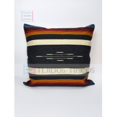 Fine Cotton Cushion Cover Gray and Bone Background