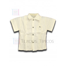 Arturo Shirt made of Cotton Color Natural Cotton,Size 1