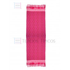 Handmade Shawl Base Fuchsia Red Weft 75 cm x 2.00 meters