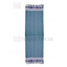 Handmade Oil-based Shawl Sky Blue Weft 75 cm x 2.00 meters