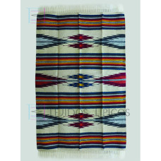 Blanket of cotton design of lightning design natural background oil shadow 1.65 x 2.50 m
