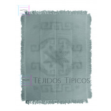 Cotton rug star design 1.60 x 2.20 mts in a Light Grey color