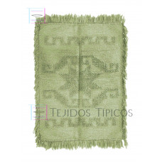 rug of cotton medium size an a star design in a Light Beige color