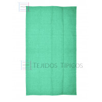 Plain Cotton Mat 1.25 x 2.00 m Water Green