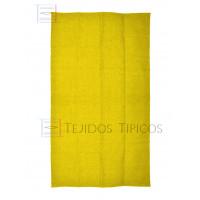 Plain Cotton Mat 1.25 x 2.00 m Yellow Color