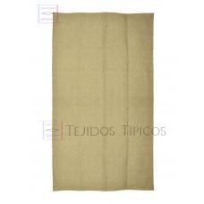 Plain Cotton Mat 1.25 x 2.00 m Beige Color