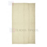 Plain Cotton Mat 1.25 x 2.00 m Bone Color