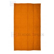 Plain Cotton Mat 1.25 x 2.00 m Orange Color