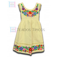Colorin Dress made of Cotton Color Natural cotton,Size 1