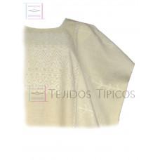 Huipil Amuzgo Natural Cotton.